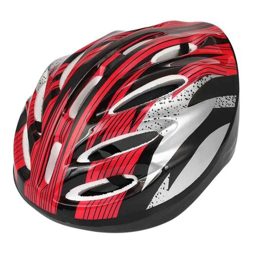 casco patinete rojo