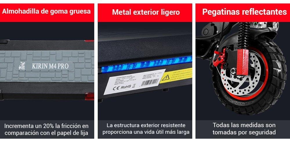 Indicaciones Kugoo M4 Pro