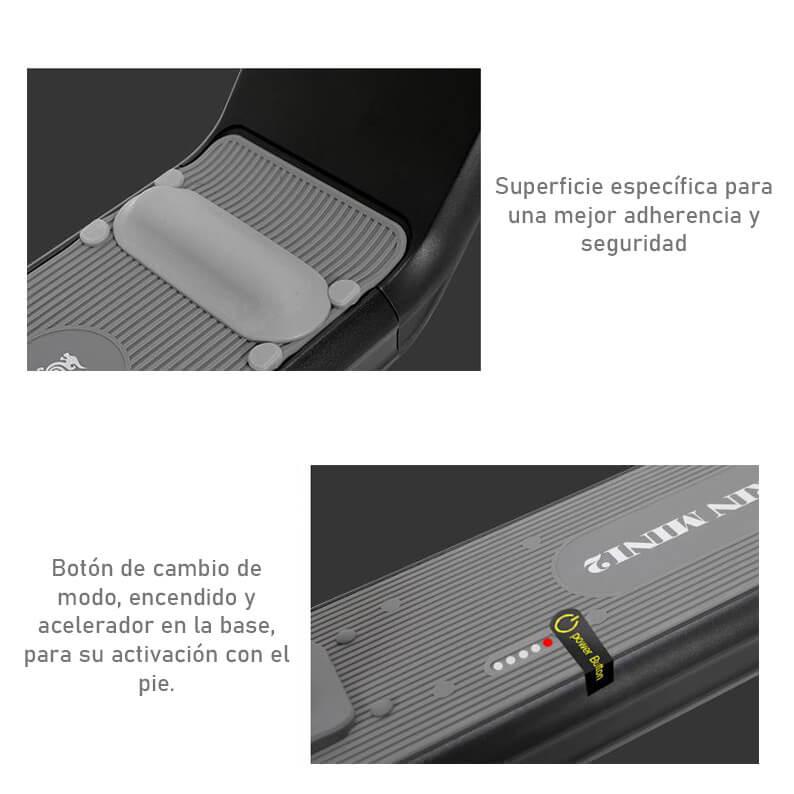 Scooter eléctrico para niños Kugoo Kirin M2 - Superficie antideslizante