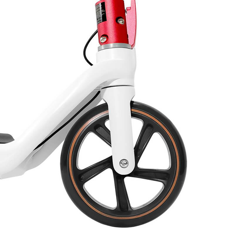Detalle rueda Kugoo Kirin Mini 2 - Mejor patinete eléctrico para niños