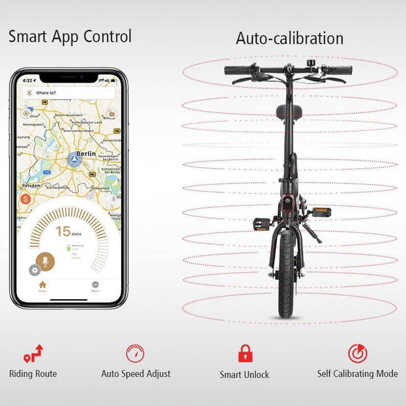 App y autocalibrado Kirin B1 Pro