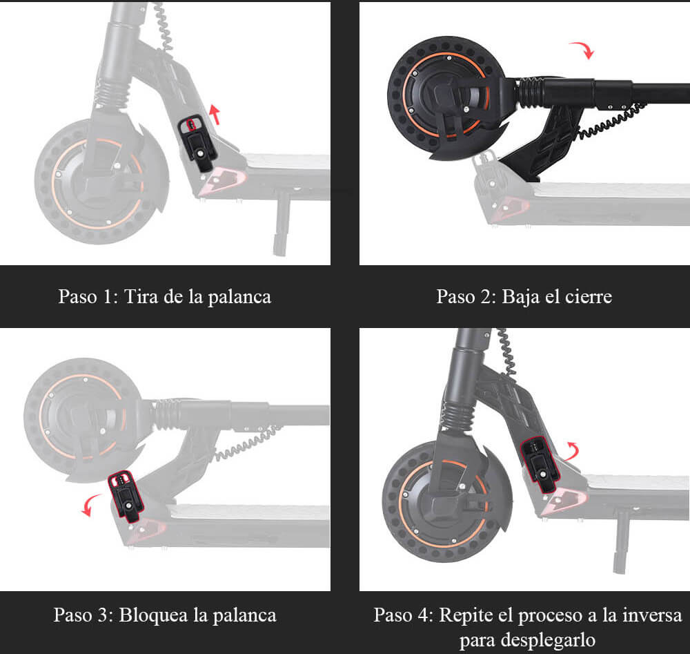 indicaciones para plegar el nuevo S1 Plus