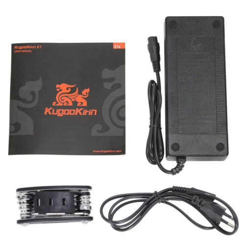 contenido caja Kugoo X1