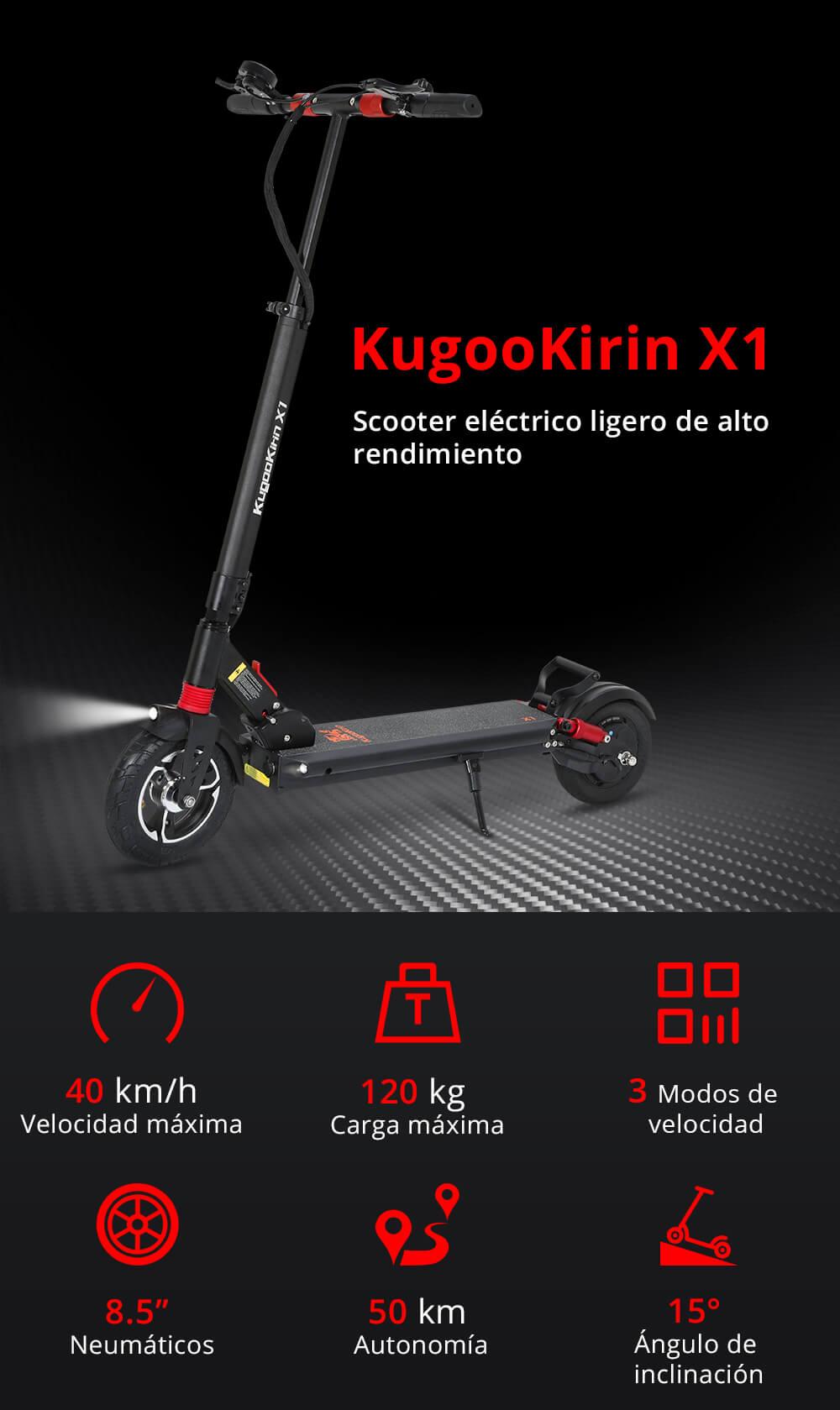 Oferta nuevo patinete Kugoo